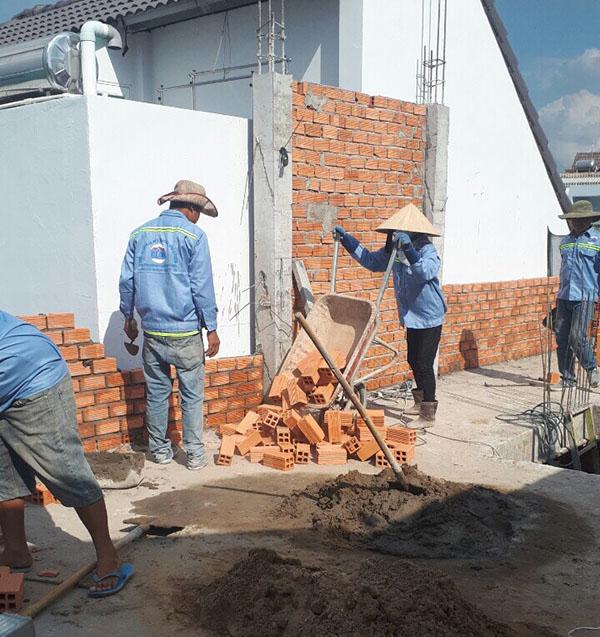Các bước quy trình xây dựng một căn nhà