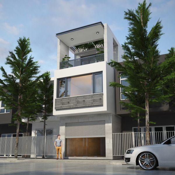 19 mẫu nhà phố có diện tích nhỏ hẹp đẹp nhất 2020