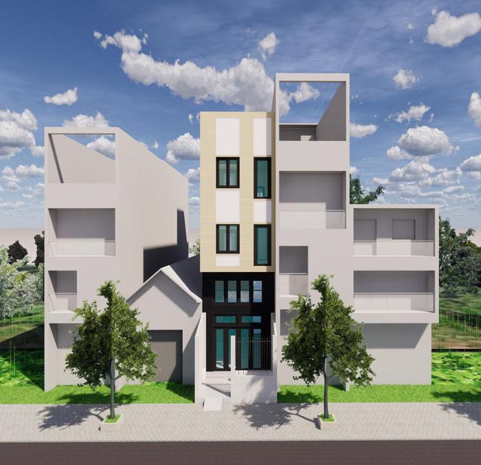 Công trình nhà mới chú Hậu – Tân Phú