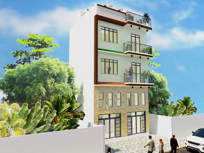 Xây nhà mới Anh Dũng ( Anh Tú)- 116/132 Thiên Phước, P9, Tân Bình