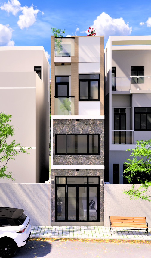 Khởi công xây dựng nhà anh Nguyễn Đức Hùng – Tân Bình, TPHCM ngày 28/03/2021