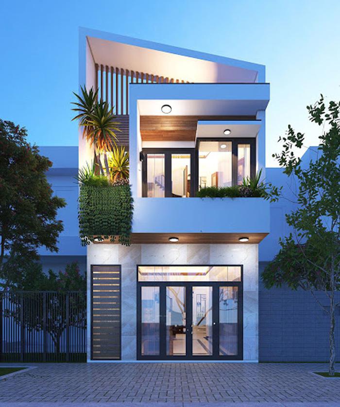 Phương án xây nhà 2 tầng tiết kiệm chi phí