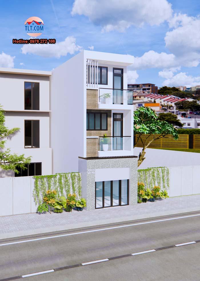 Tính chi phí xây nhà 3 tầng diện tích 40m2