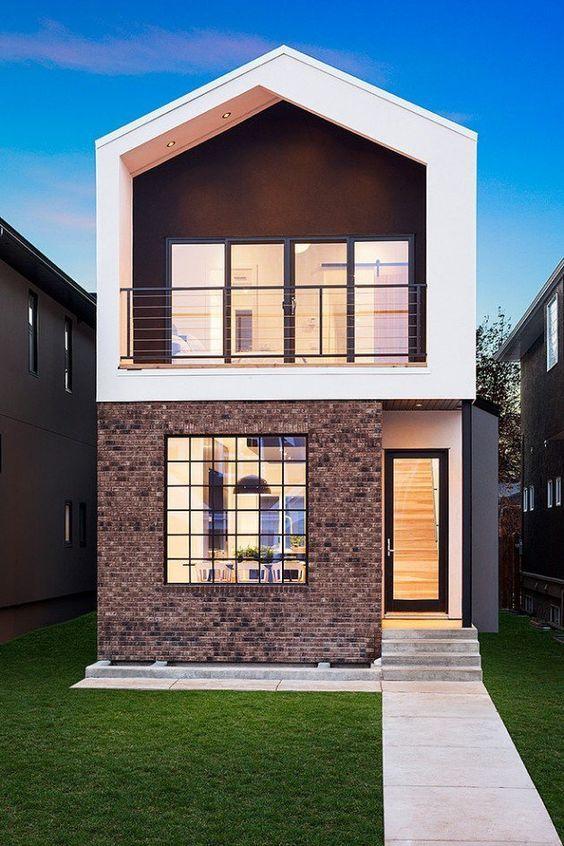Mẫu nhà 1 trệt 1 lầu 3 phòng ngủ ấn tượng và thu hút 2021