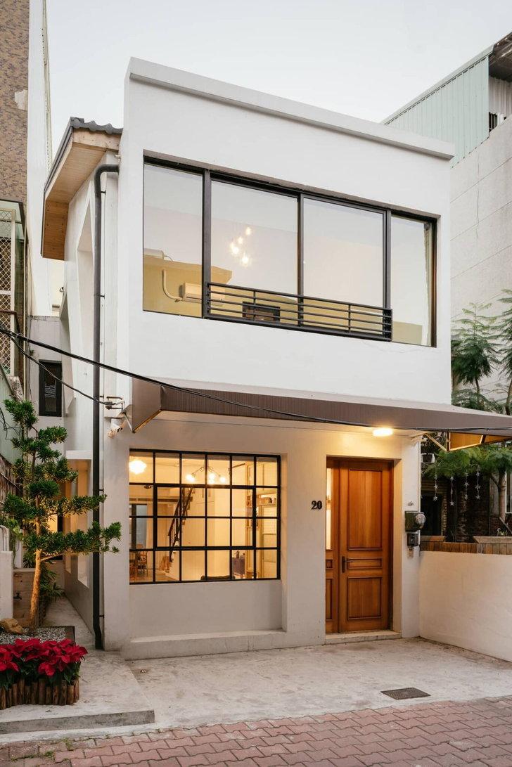 Mẫu nhà phố 2 tầng đơn giản dành cho các cặp vợ chồng mới cưới